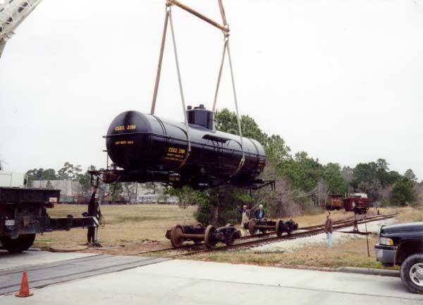 CSOX 2198 tank car