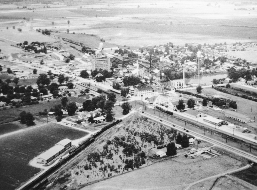 Sugar Land 1937 aerial view