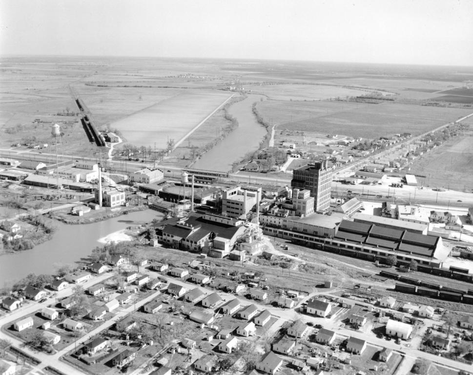 Sugar Land 1937 aerial view